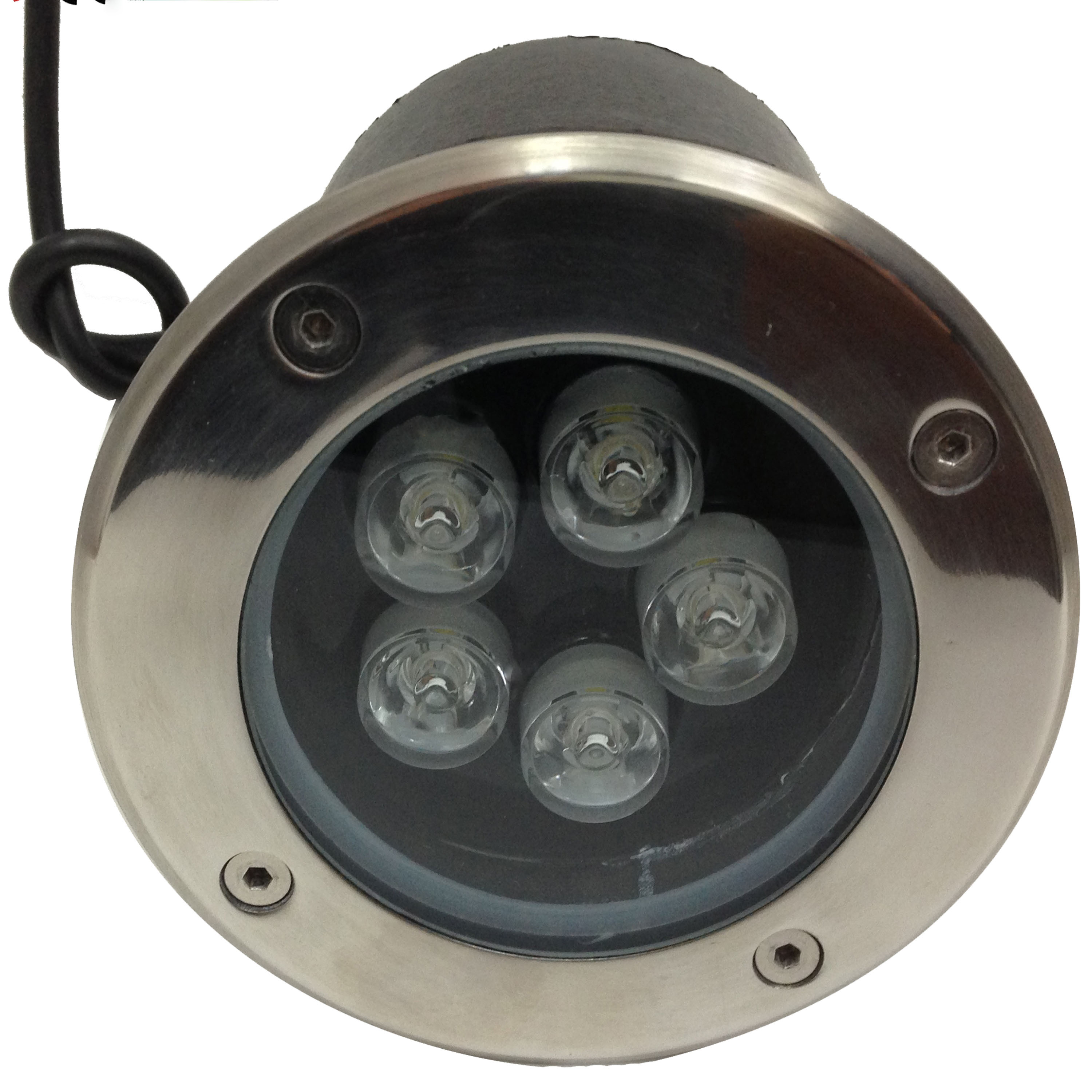 E1 5x1w faretti e fari led faretto led 5w carrabile for Faretti a led incasso