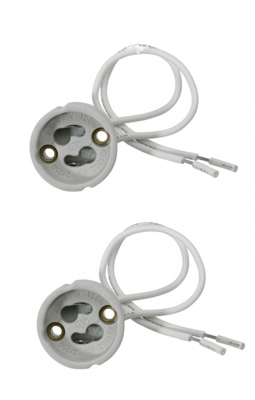 attacchi per lampadari : ... SILAMP - - Attacchi per lampade gu10 Attacchi portalampade