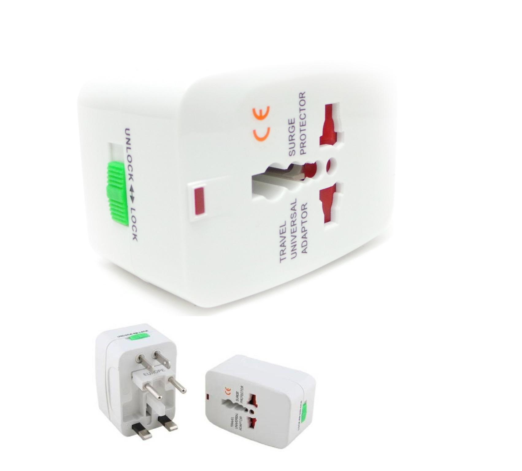 Silamp Adattatore Spina Tripla corrente Da Adattatore Elettrica Bianca Spina 16A 2p T rpsujmo