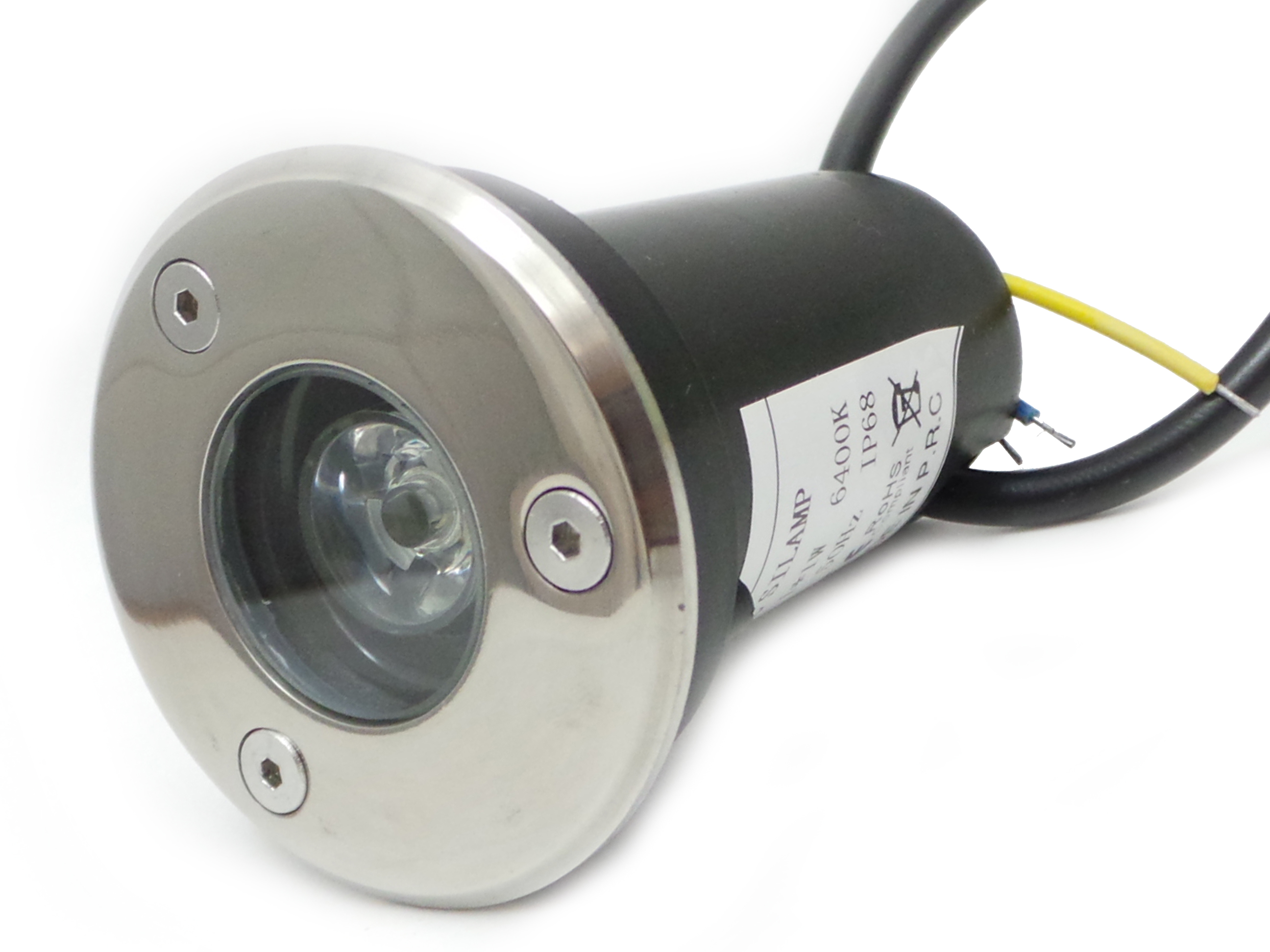 F83 1x3w faretti e fari led faretto led 3w for Faretti a led incasso