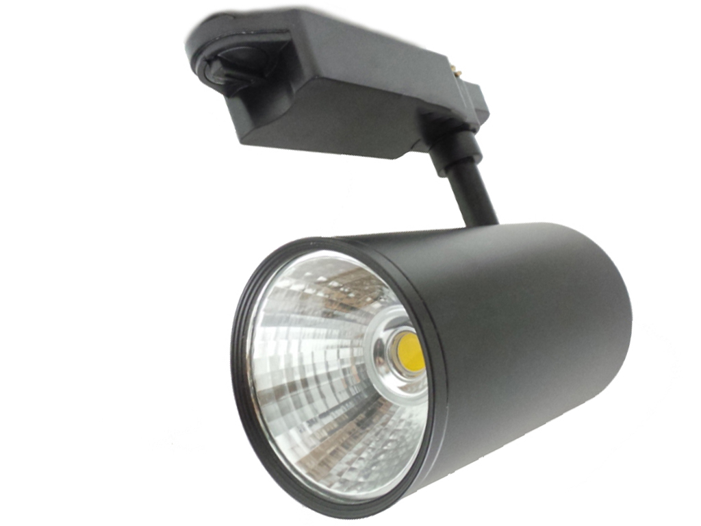 F17-COB30W - Faretti e Fari LED - - Faretto LED a binario 30w illuminazione a binario led nero