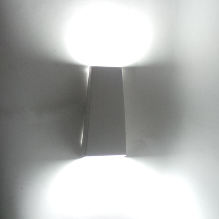 Applique esterno led lampada muro applique led w da - Applique led esterno ...