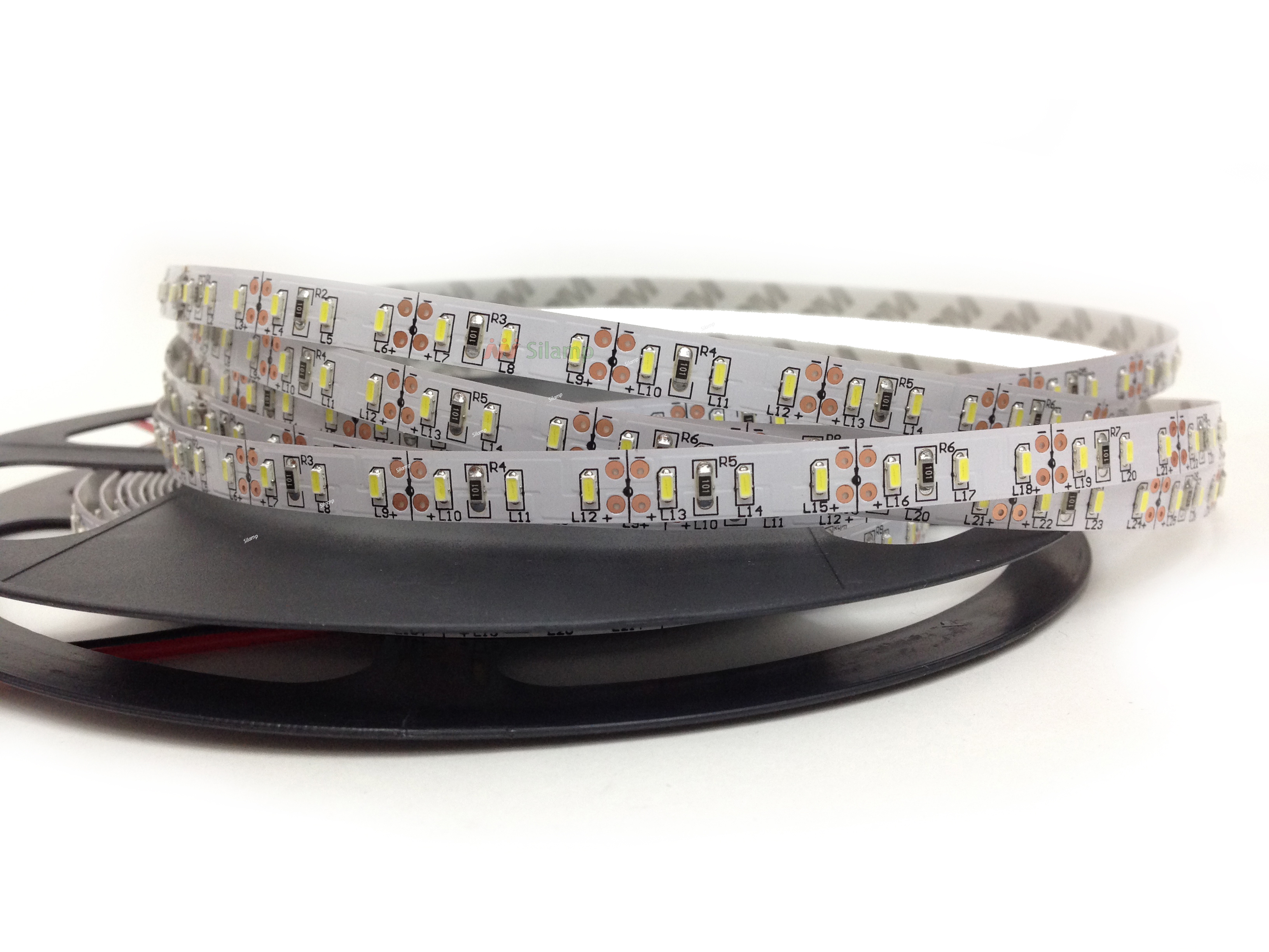 5m Striscia Led smd 3014 60W ip20 strip led luce fredda e calda 5metri potenti
