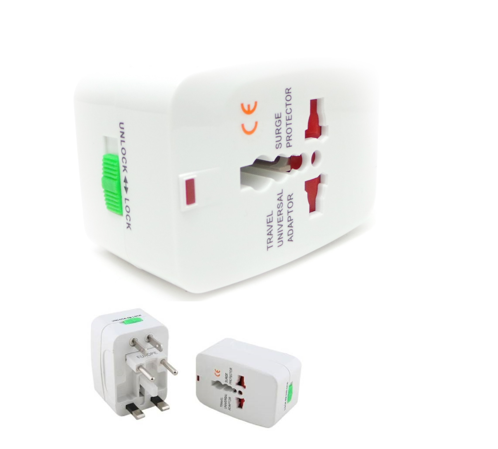 International Adapter Universal Power Outlet Plug Travel