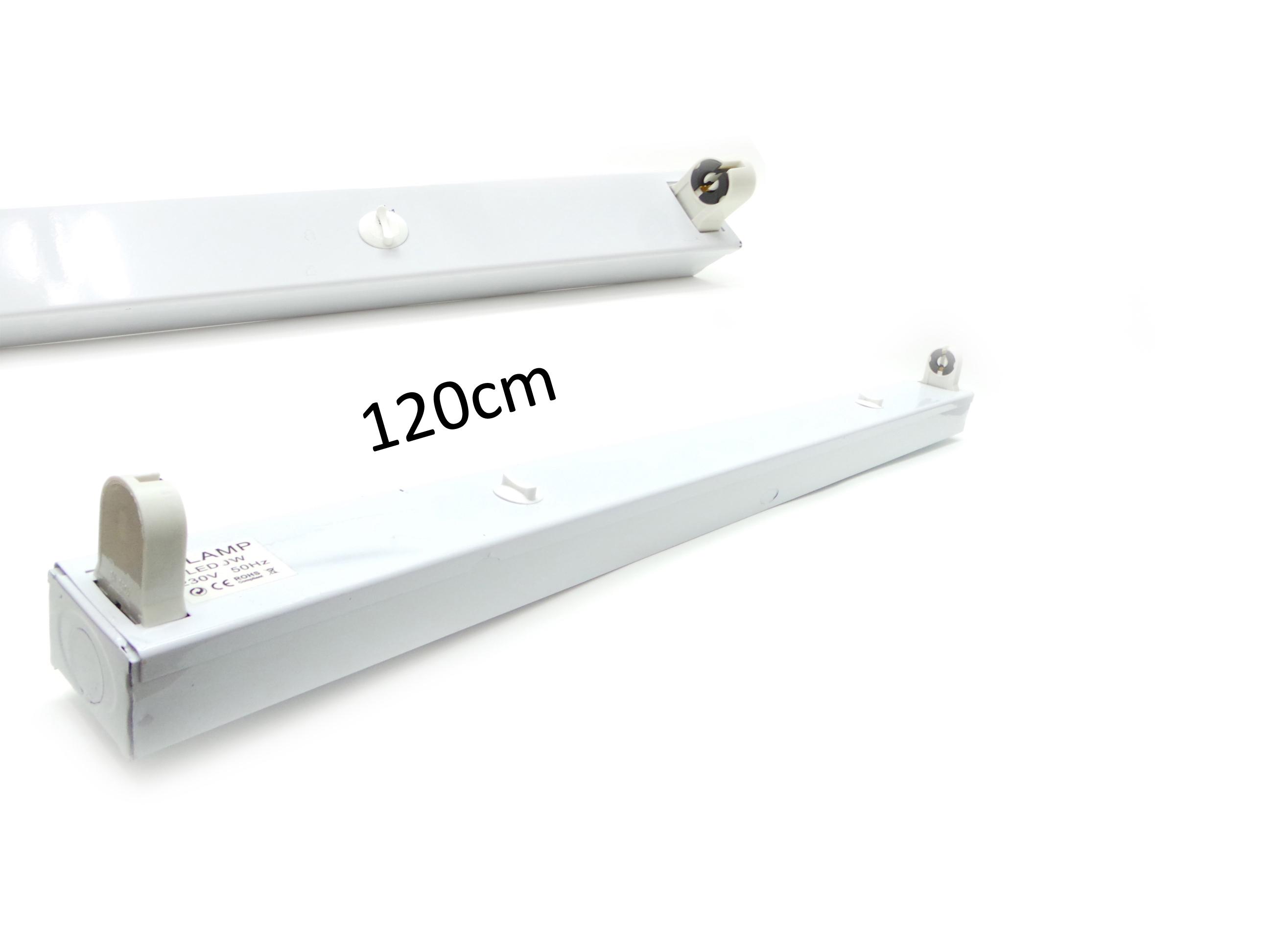 Plafoniere Neon Da Soffitto.Reglette Plafoniera Neon Led T8 Attacco Porta Tubi Led Led Da 120cm