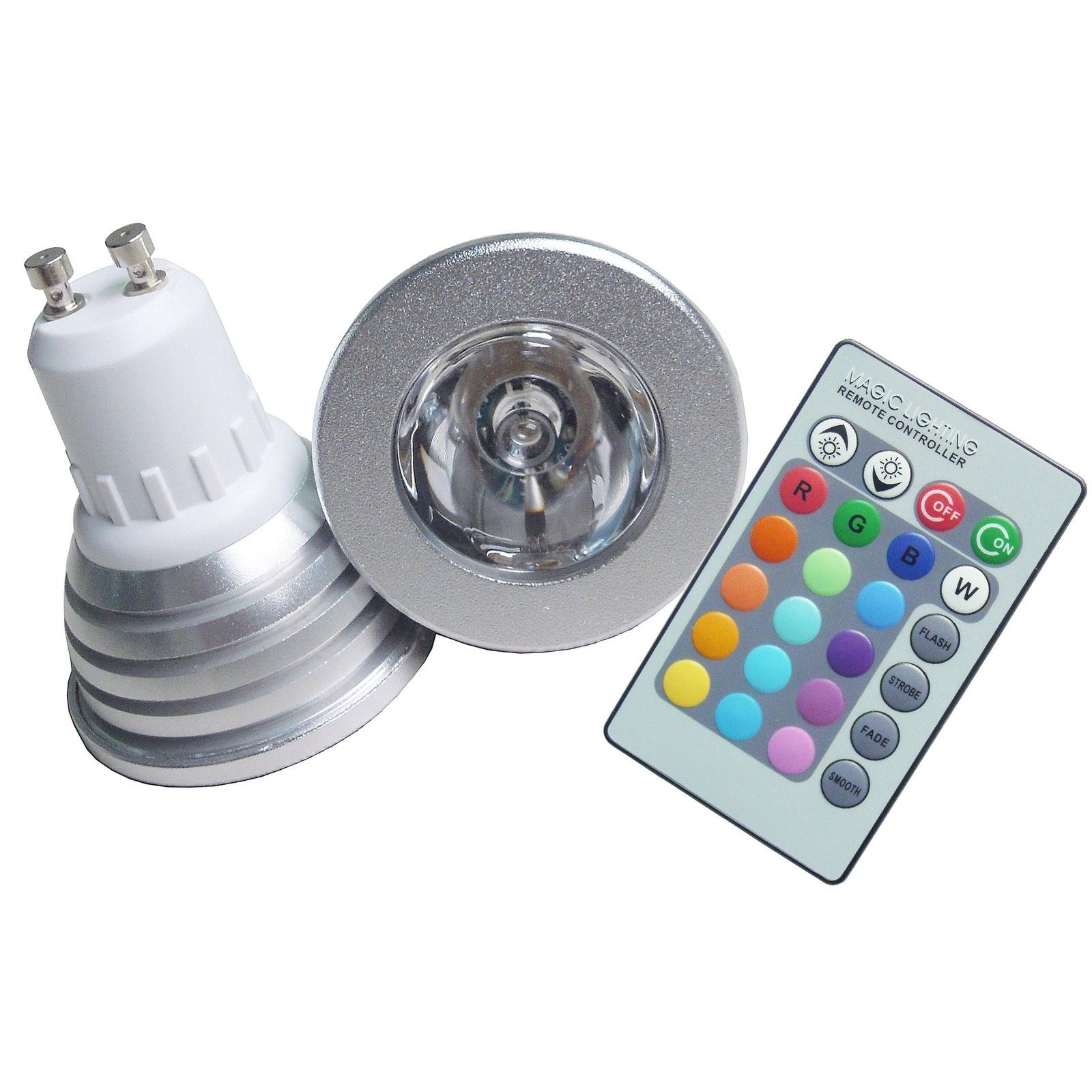 M1 gu10rgb offerte lampadine led silamp gu10 led for Lampada per faretto a led