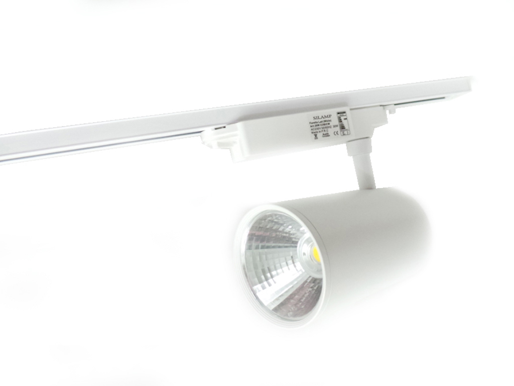 bin-bianco-2m - faretti e fari led - - binario led 2 metri bianco ... - Lampadario Binario Faretti