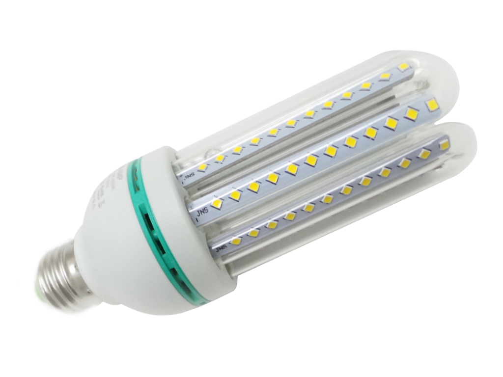 LED-Birne e27 4tubi 23W Natural Light Kalt 230v 120led SMD Marke Silamp