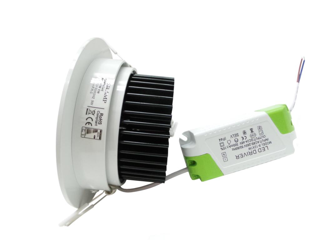 f28-9x1w - faretti e fari led - - faretti ad incasso led 9x1w ... - Faretti Led Incasso Ikea