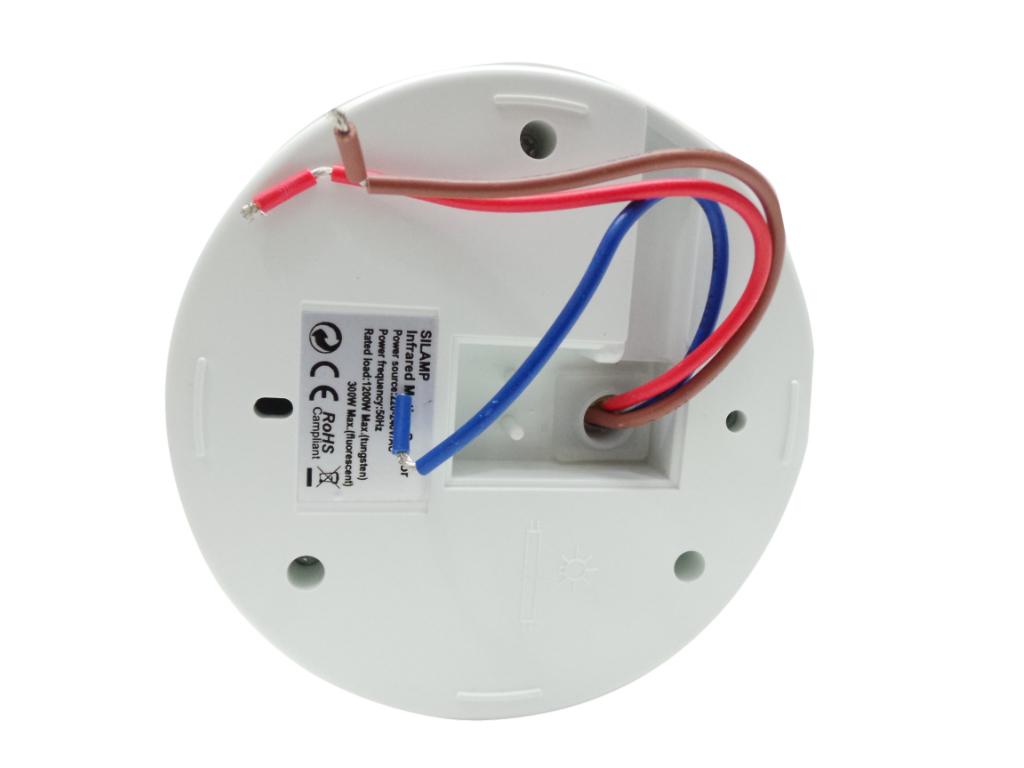 Plafoniera Con Sensore Crepuscolare : Sen offerte sensori movimento infrarosso silamp sensore