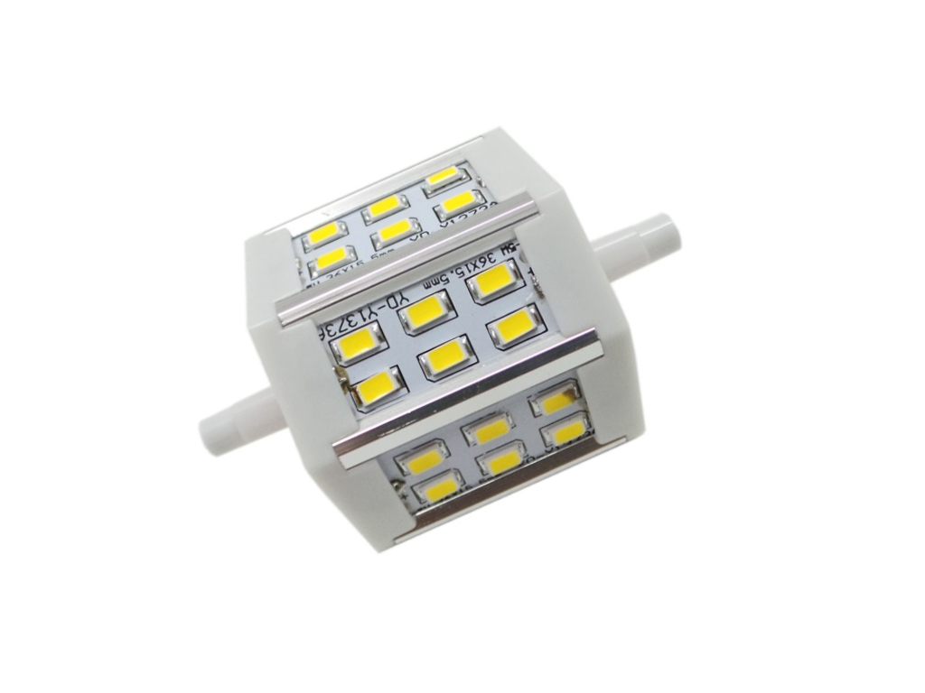 R7s LED Birne 6W LED 78mm 18 Silamp 230V 6W Licht Natural White