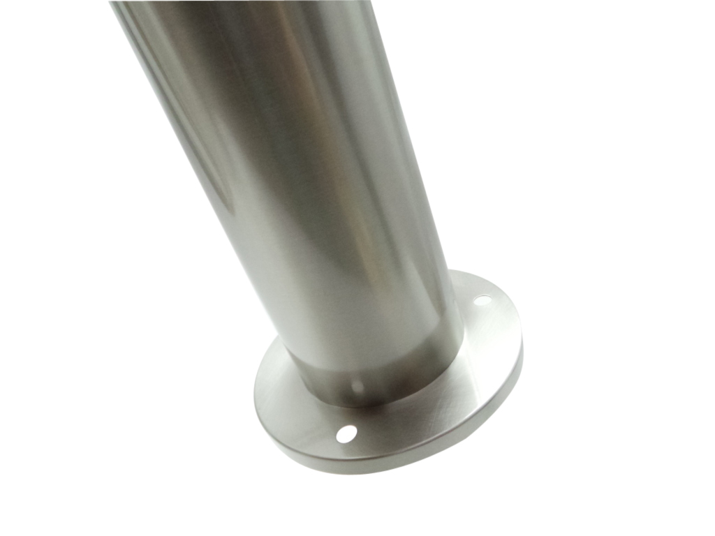 B13 8w sh cw led da esterno silamp palo led 8w 95cm acciaio