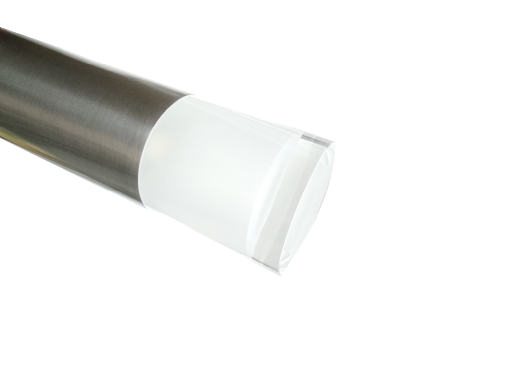 Plafoniere Da Palo Per Esterno : B13 8w sh cw led da esterno silamp palo 95cm acciaio