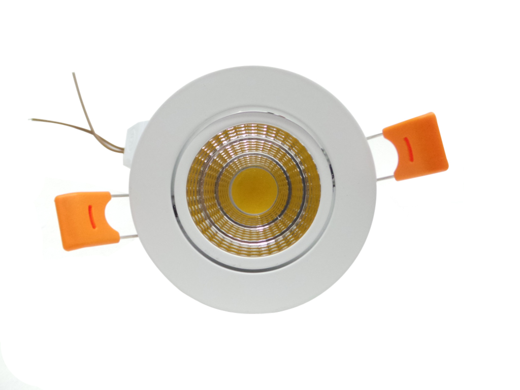 F35 5w faretti e fari led faretto led incasso 5w cob for Led controsoffitto