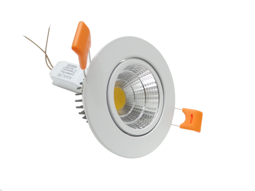 F35 5w faretti e fari led faretto led incasso 5w cob for Costo faretto led
