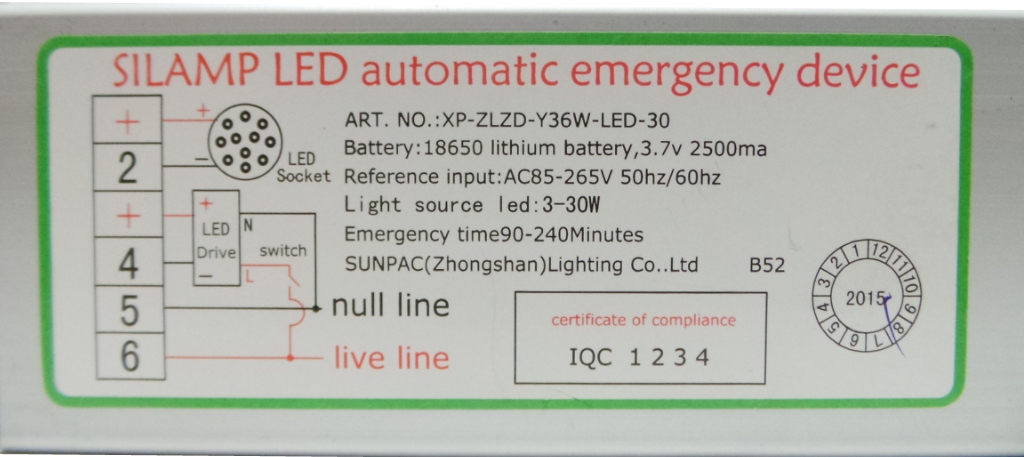 Schema Elettrico Lampada Di Emergenza Beghelli : Sen w offerte trasformatori e alimentatori silamp