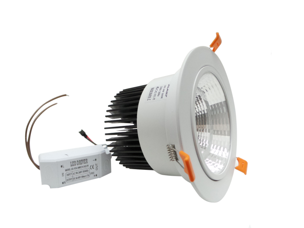 F40 18w faretti e fari led faretto led incasso 18w for Costo faretto led