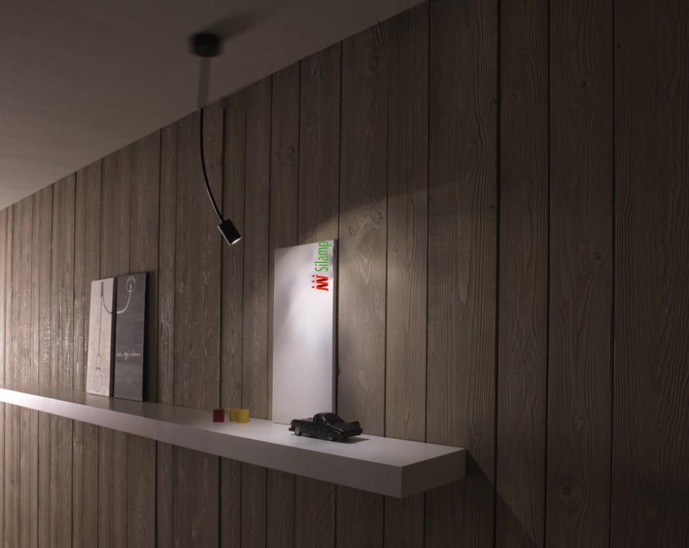 Lampade a led da muro: immagini idea di applique a led da parete