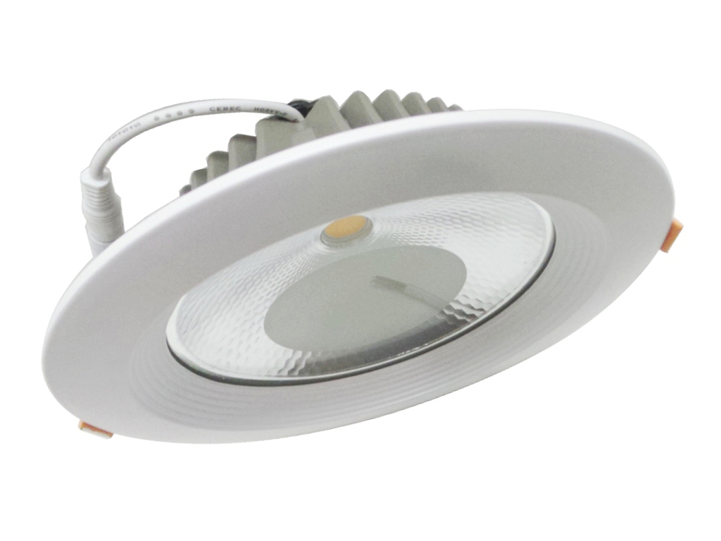 Foco LED empotrable redondo de 15W diámetro 165mm cob Potente