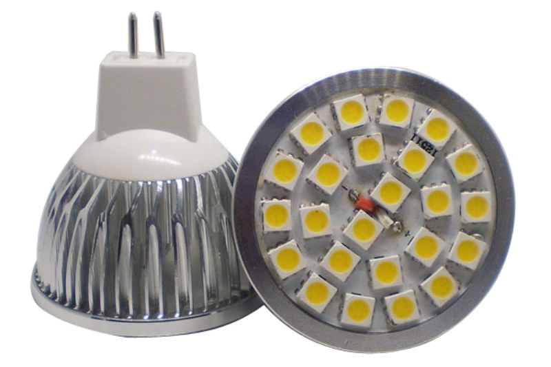 Led bulb MR16 5w 24led smd 5050 12v Spot light bulb Lamp spot