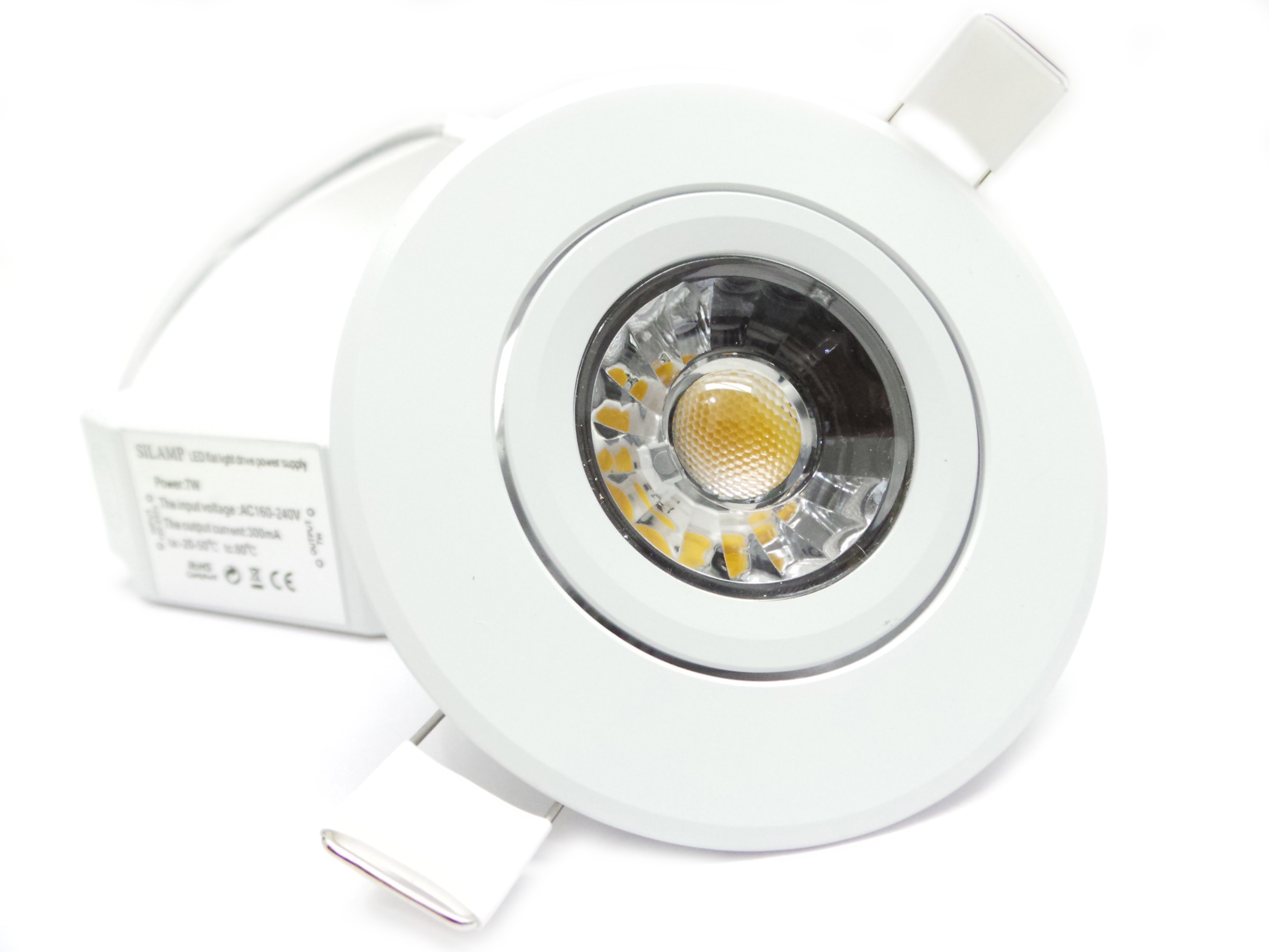 F12 7w faretti e fari led faretto led incasso for Led controsoffitto