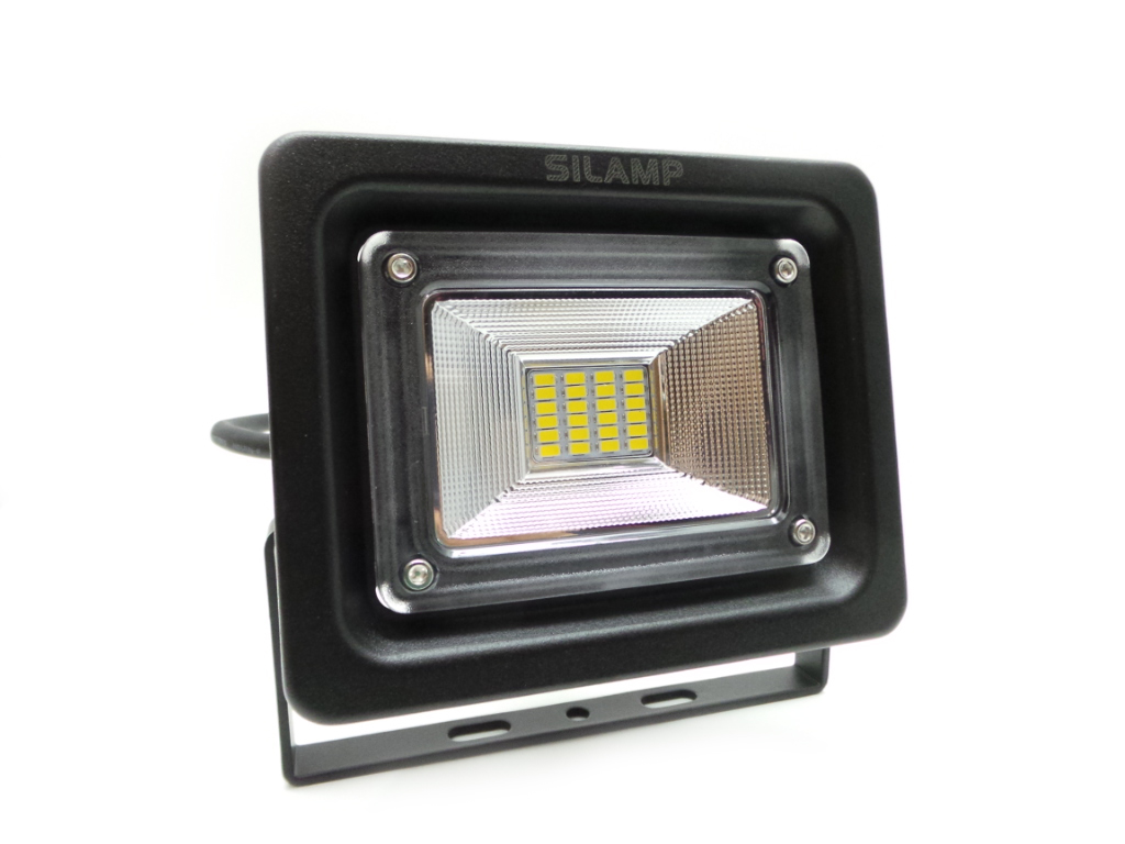 LED floodlight 10W Ultra Slim 24led Lights for the outside and the inside with Led lamp