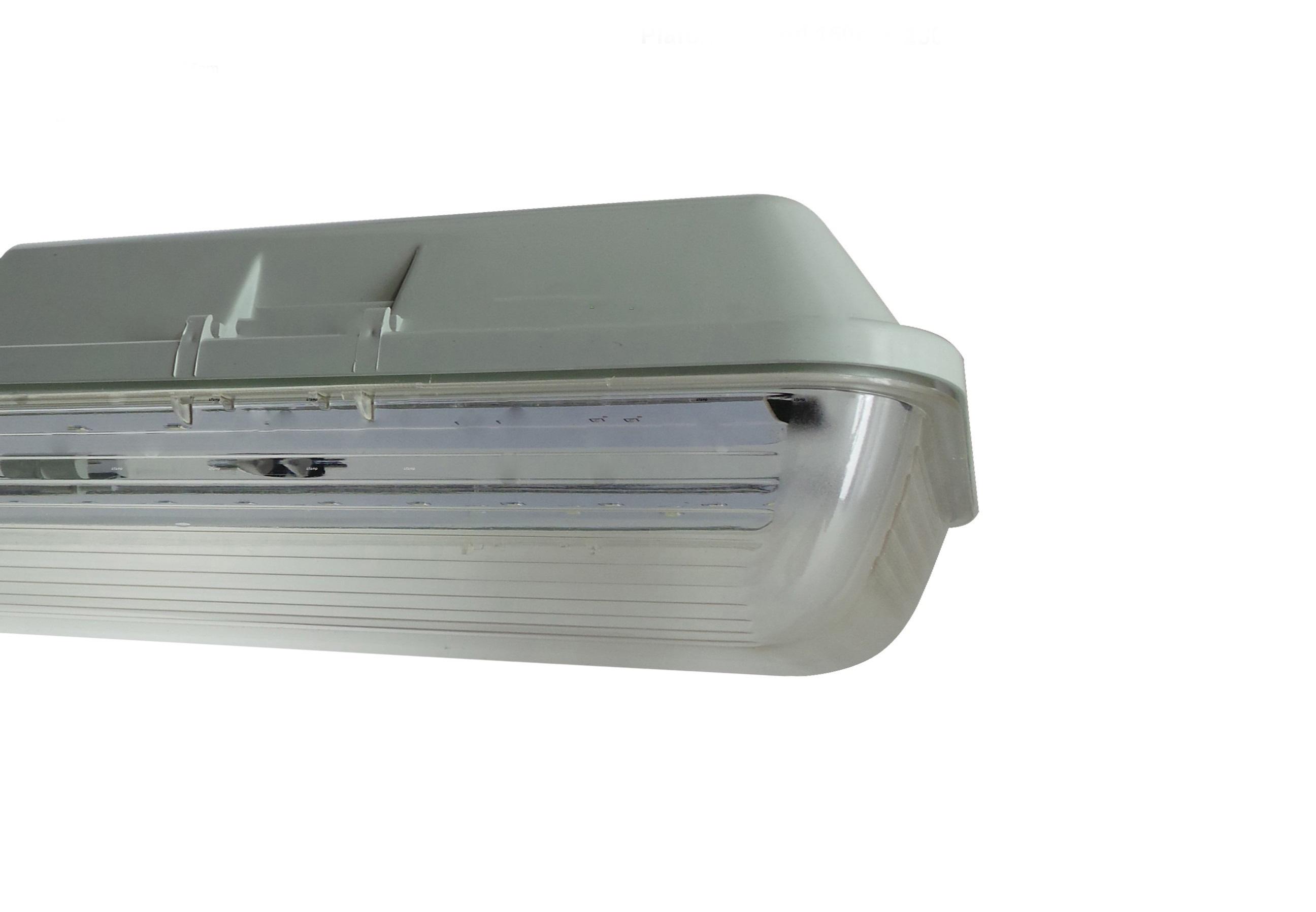 Plafoniera Tubo Led Esterno : P10 2x20w plafoniere e tubi led plafoniera stagno 120cm