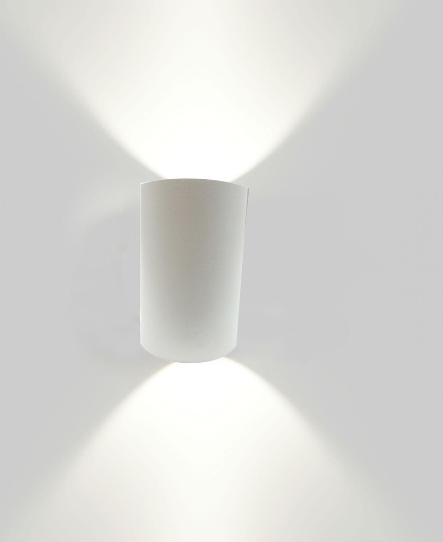 lampada led doppio luce applique led 10w da parete 230v. Black Bedroom Furniture Sets. Home Design Ideas