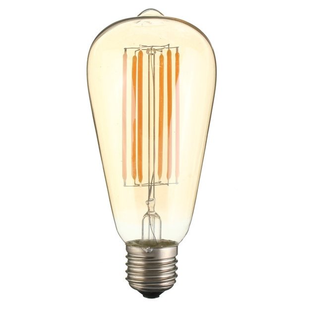 Ampoule LED 8W grand E27 modèle ST64