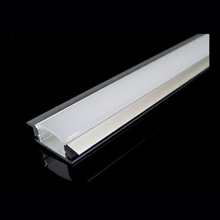 2M Profile led Strip smd BAR Aluminum Hard COVER Matte
