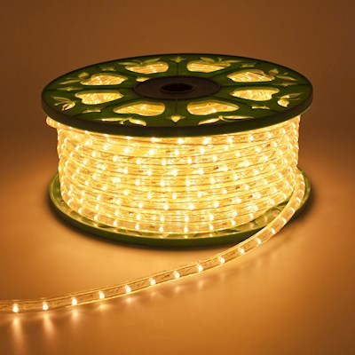 50metri tubo led luminoso Tubo luminoso 13 mm striscia led da 50m calda