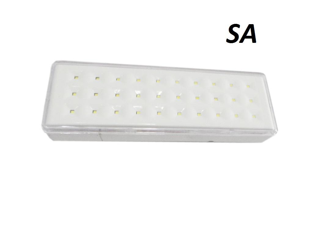Plafoniere Con Lampada Di Emergenza : E w applique led lampada emergenza s a h