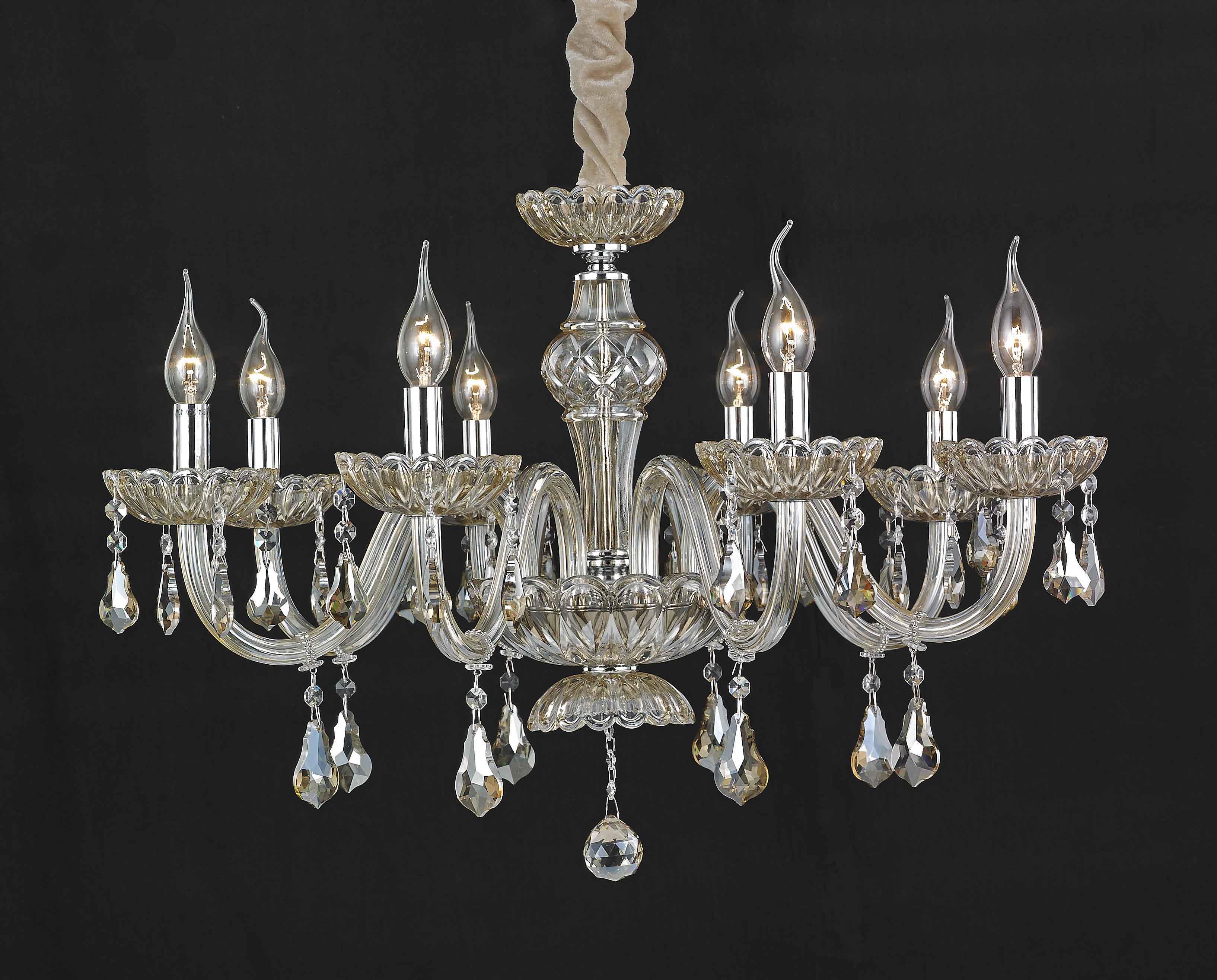 Lampadario Rosa Cristallo : Lampadari a sospensione lampadario da luci lampada