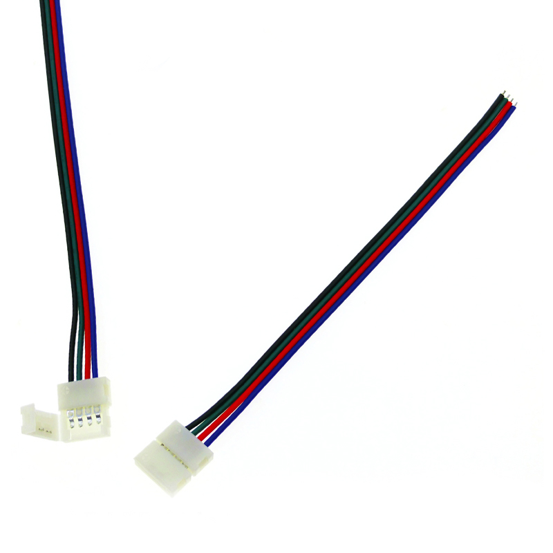 Connettore Spinotto 12v RGB per striscia led Rgb
