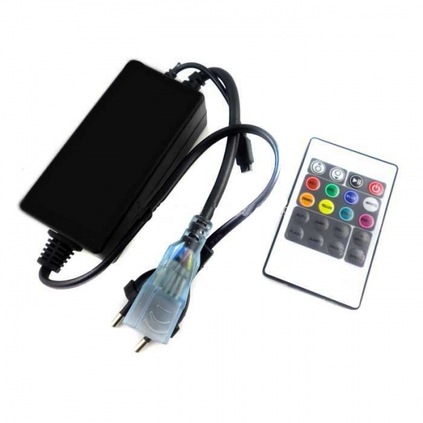 Rgb Controller 220V With Infrared Remote control For led Strips 220v