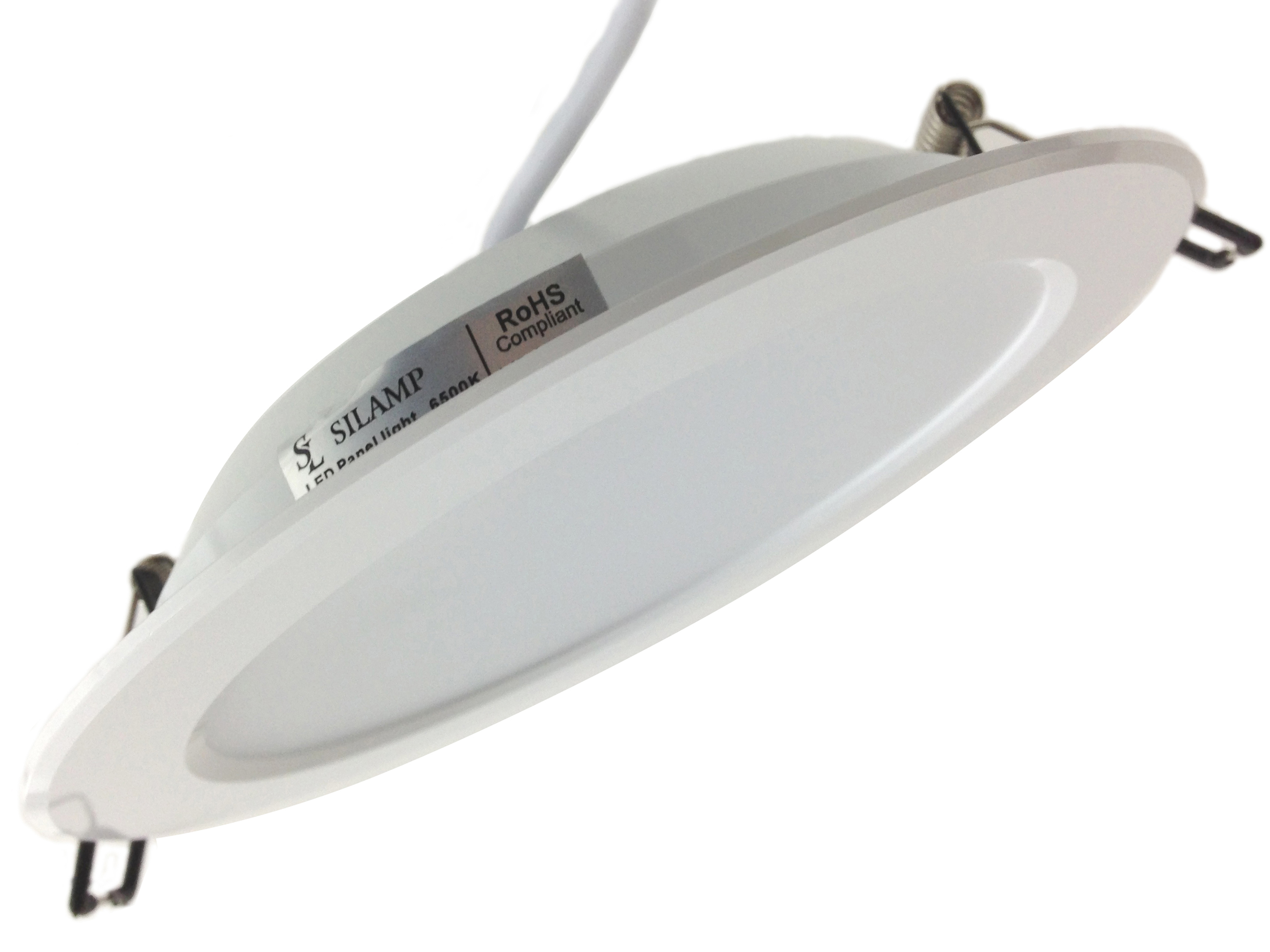 LED spotlight 30W recessed superslim thickness 35 mm diameter 225 mm