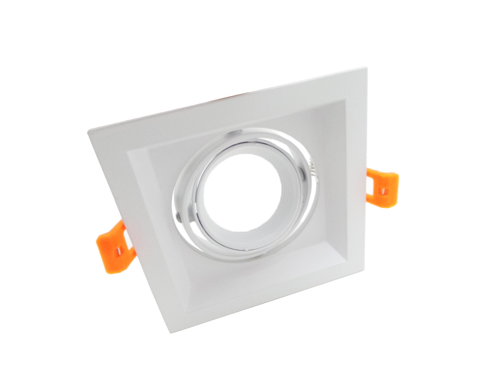 Focos empotrables Regulable gu10 Led del Anillo