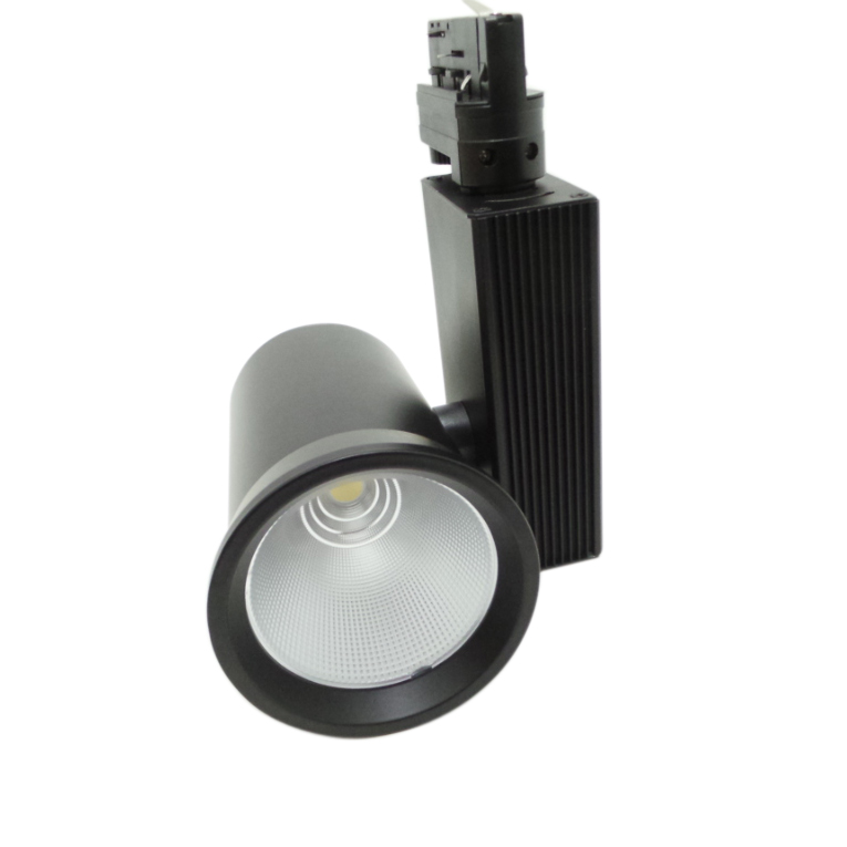 Faretto LED a binario 35W Trifase Cob Faro Led Binario