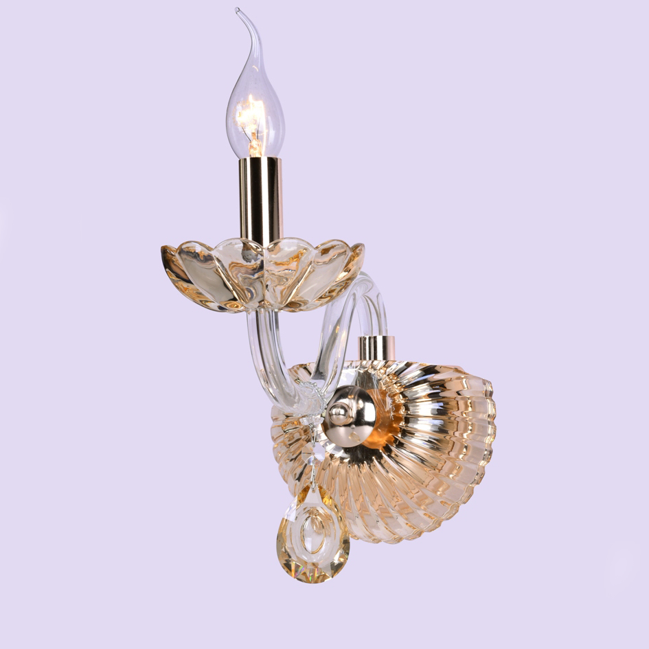 Wall lamp Applique clear Crystal glass 2011-1