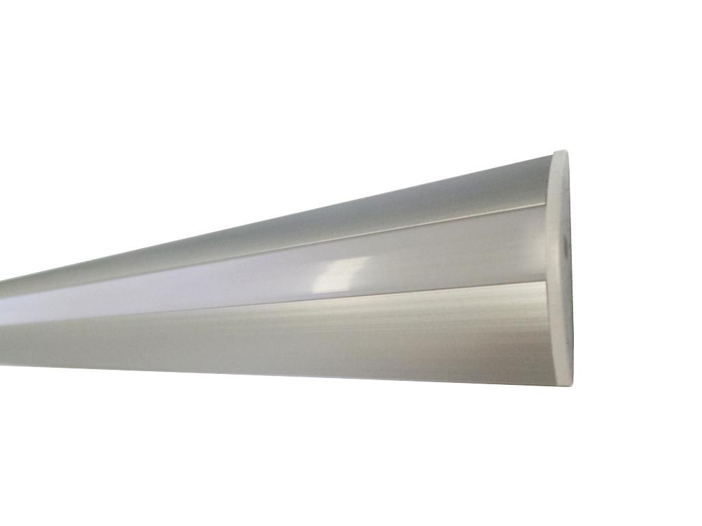 Strisce Led Incasso.Profilo Alluminio Incasso 2m Per Striscia Led Barra 8 2m Minimo Ordine 5 Pz
