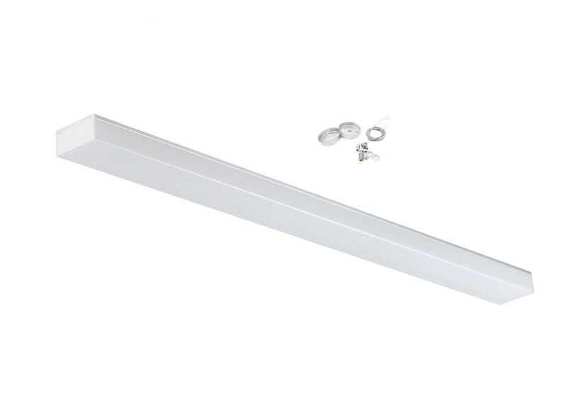 Led surface-mounted luminaire suspension 48W included cable steel suspension pi-2-48w