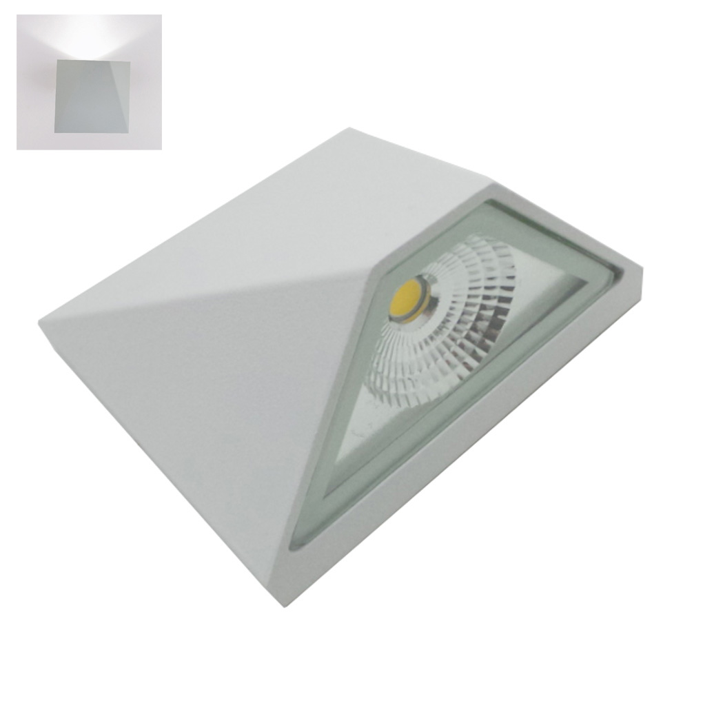 Led-lampe wandleuchte led 5W weiße version Piramid