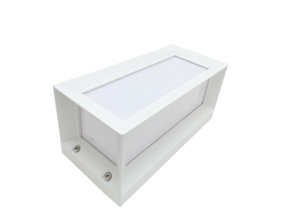 Led lámpara de pared, lámpara de 12w luz de Pared de 5 los lados