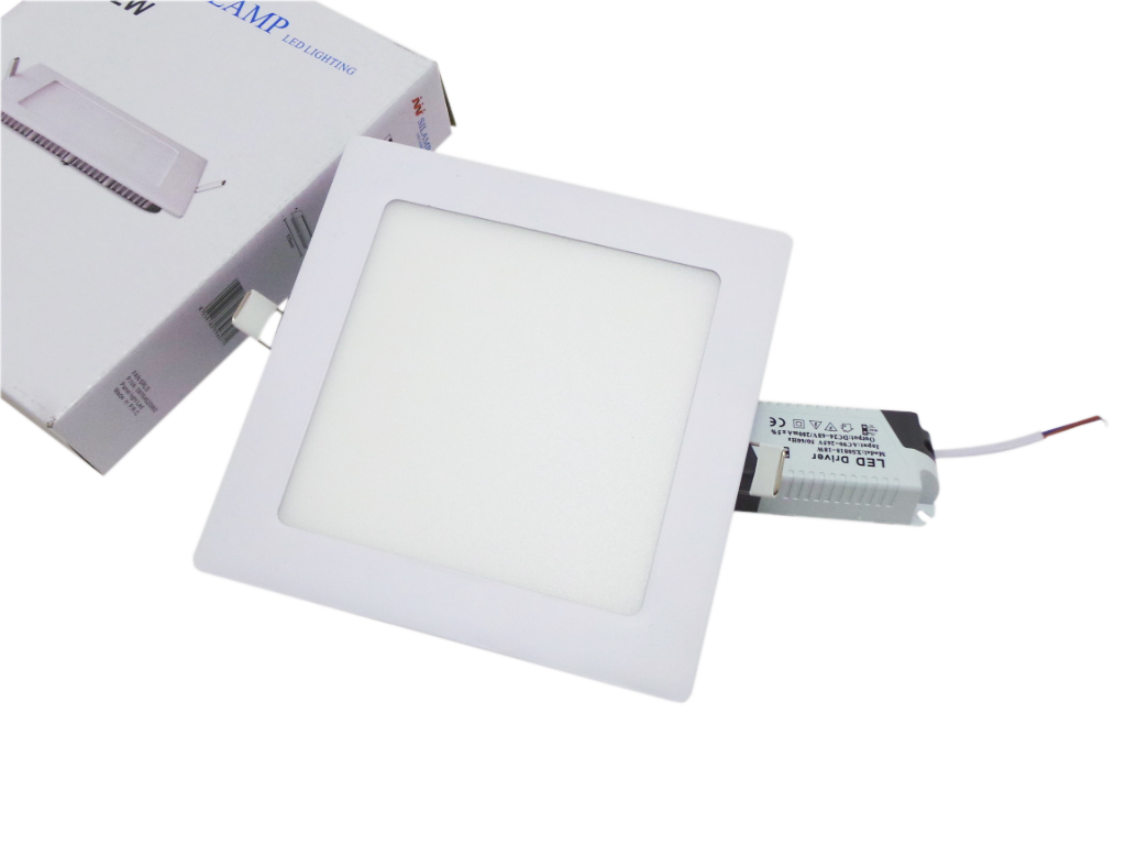 Spotlight Led recessed square 12w Silamp Countertop