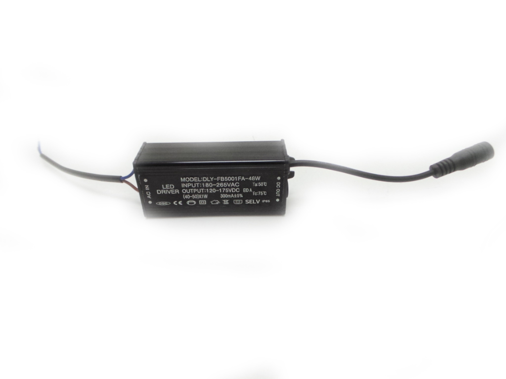 Led transformateur 48w Led d'alimentation DC 130V le Conducteur de Led