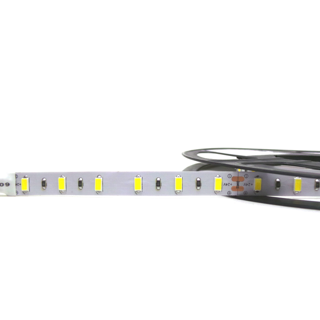 Striscia Led 5m smd5730 300led 72w 24v strip Bobina Metri