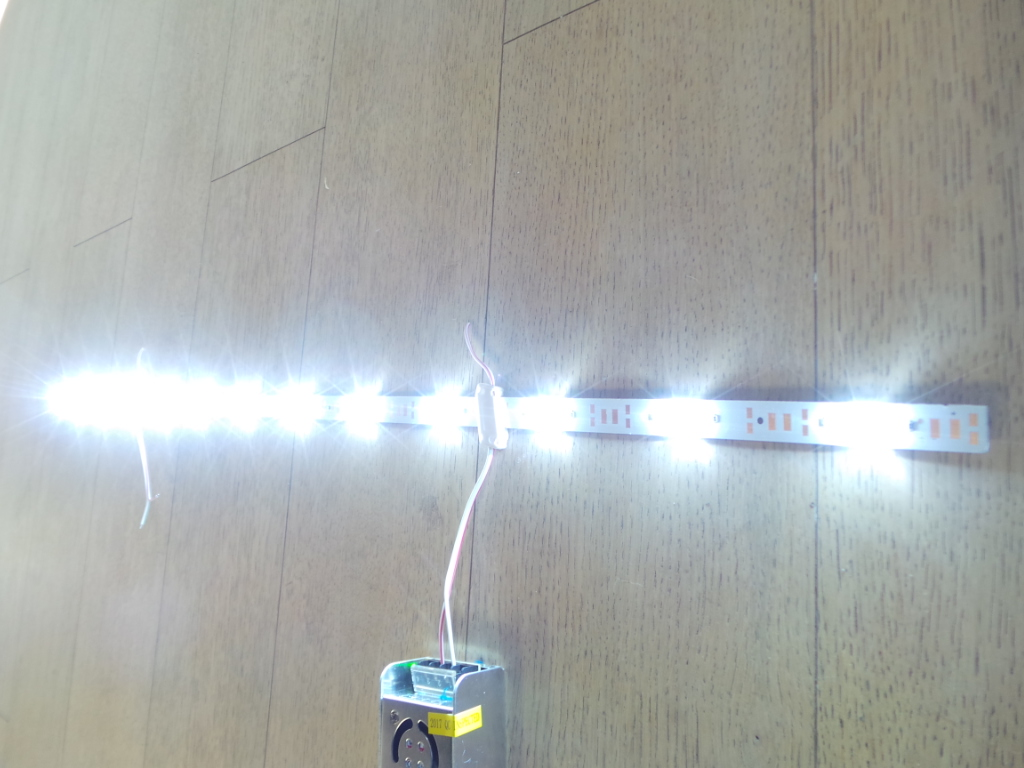 Bar Led 24w coB led Profile 24w 12V 12LED