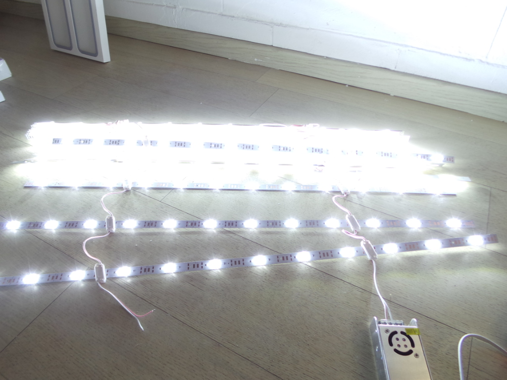 20PZ Moduli led per insegne luminose 480w Barra led Cob 480w 12V 12LED