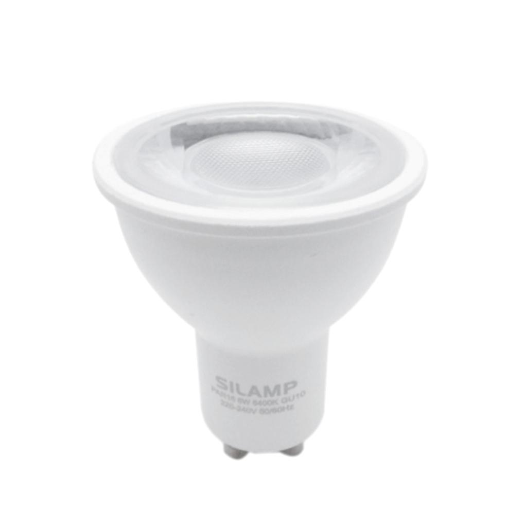 Lampada Led Faretto Gu10.M6 Gu10 8w Offerte Lampadine Led Silamp Lampadina
