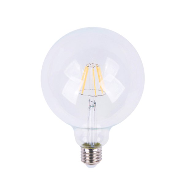 Led bulb E27 6W transparent Model big version compact